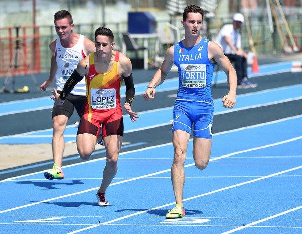 Top Sprinters Running Genetic Factor 8