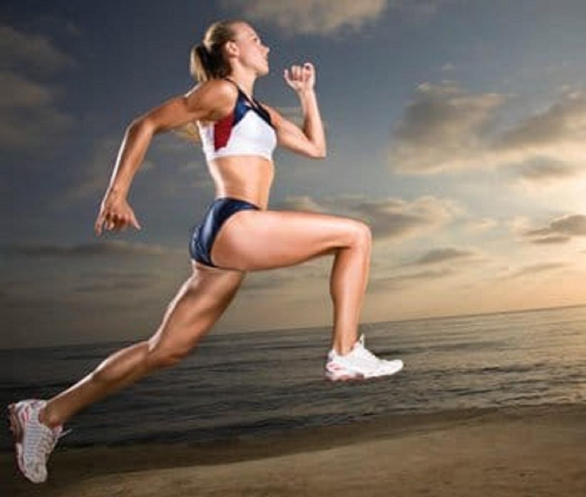 female-runner-on-beach