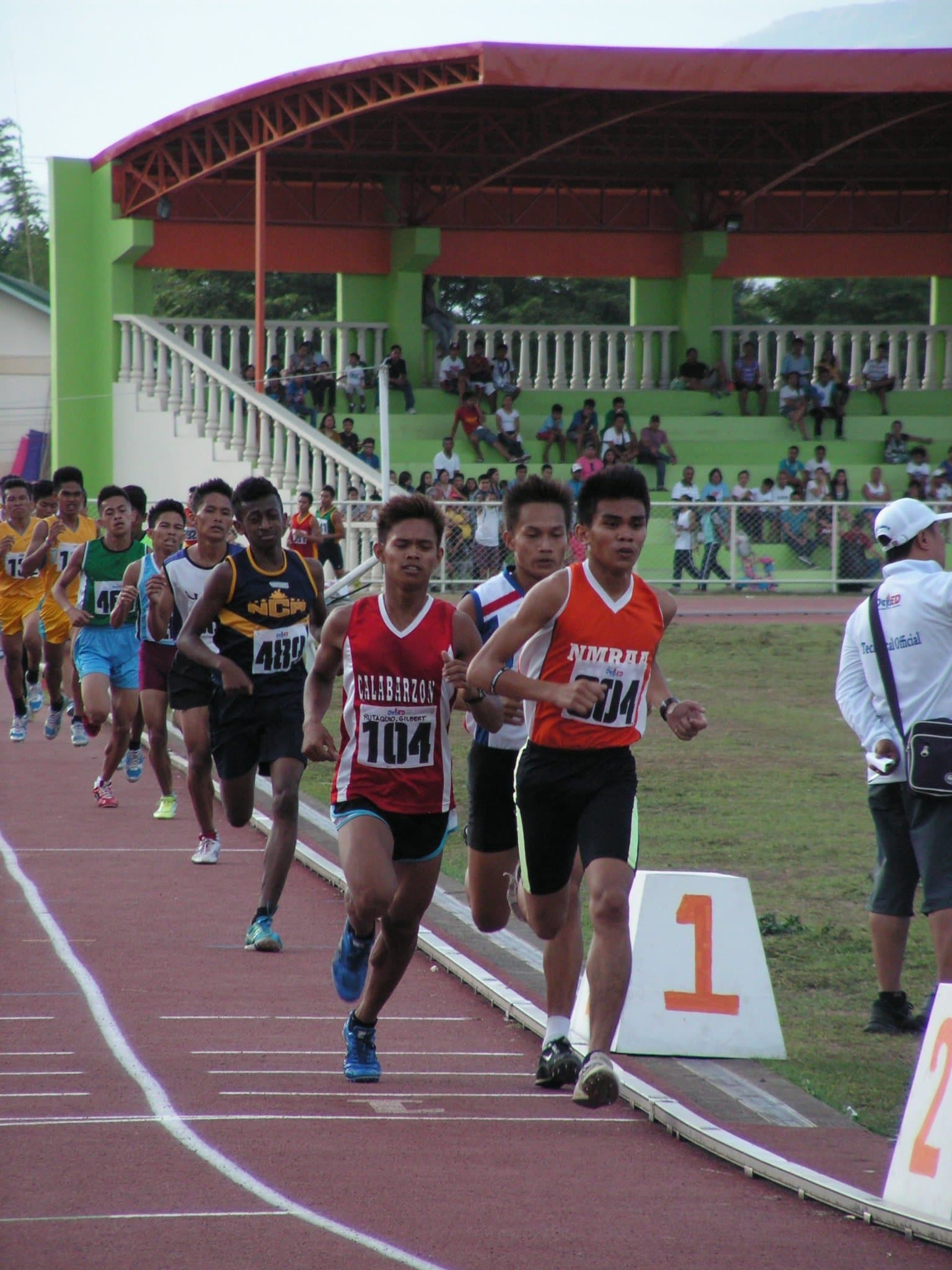 Capangpangan (304) during 1500m Run