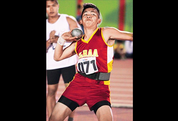 Pacheco during the Shot put finals (Image from Joey Santos retrieved: Philstar.com)