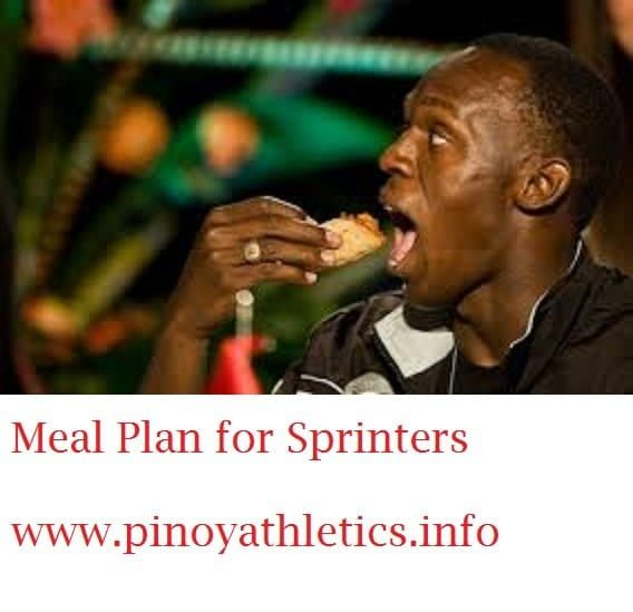 The Best Meal Plan for Sprinters 1 9