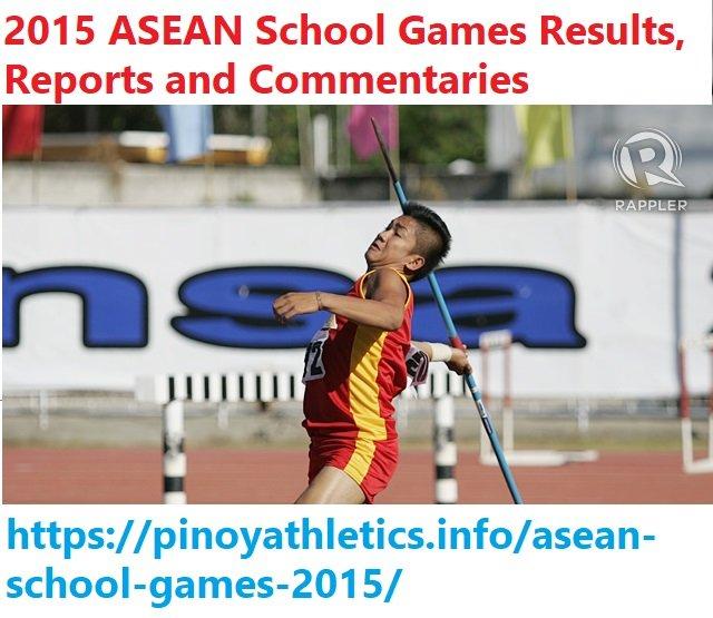 ASEAN School Games 2015