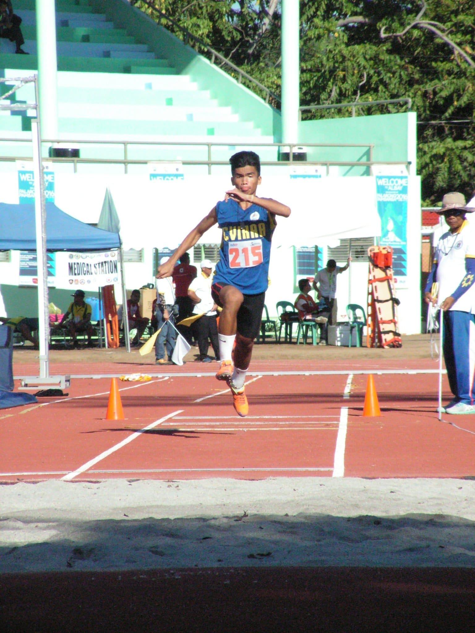 John Marvin Rafols of Central Visayas Region