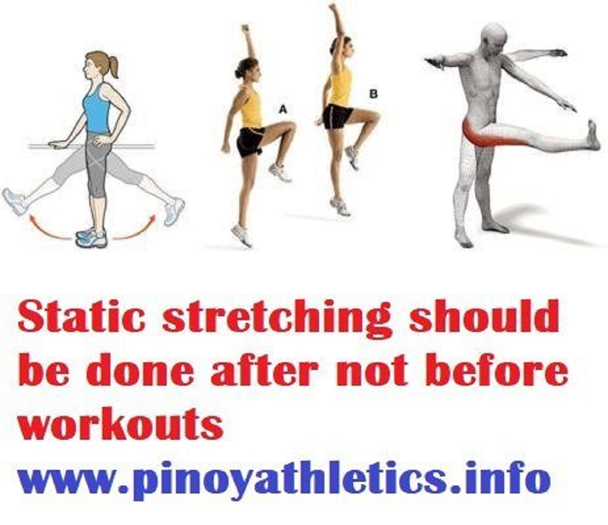 Is static stretching bad before exercise?