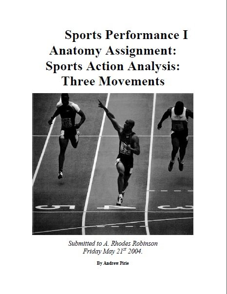 Anatomy in Sports: 3 Movements Analysis 8