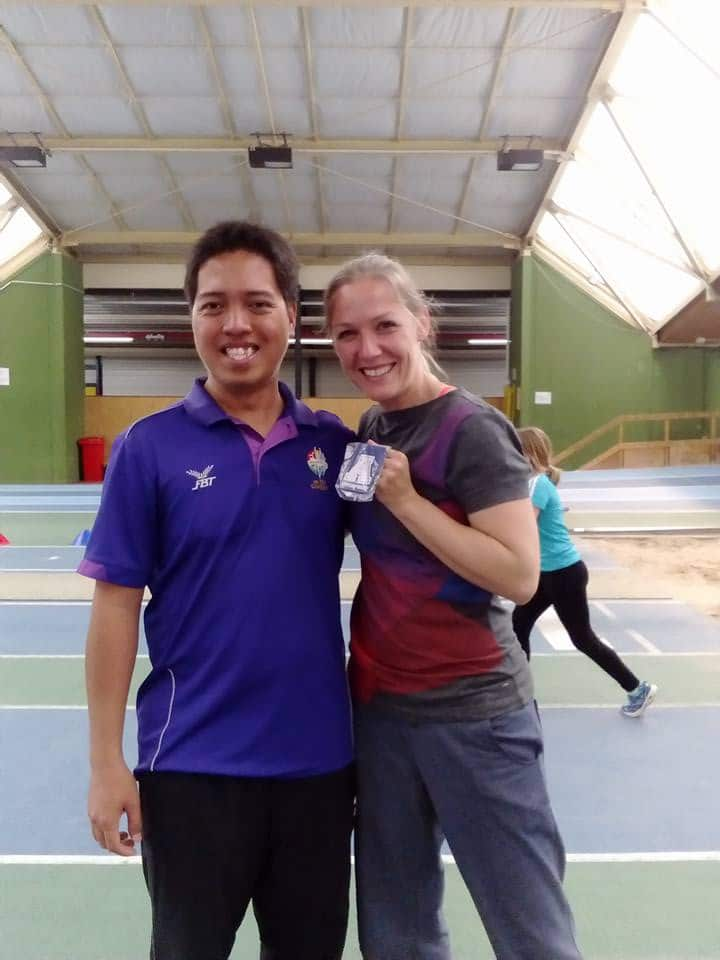 Athletics Grassroots Program in the Philippines 4