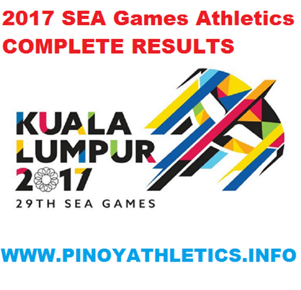 2017 SEA Games Athletics Results 2