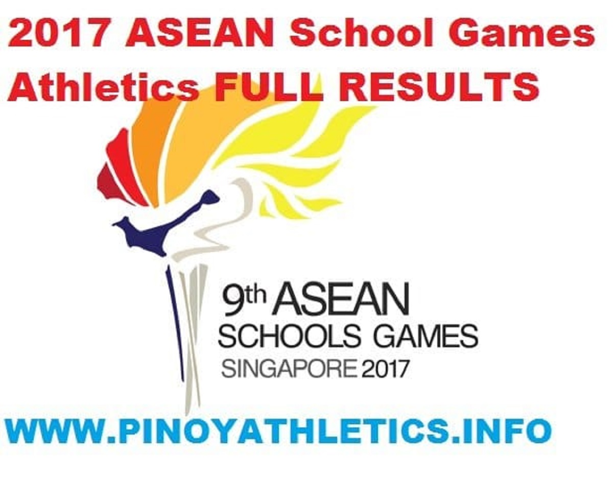 2017 ASEAN SCHOOL GAMES ATHLETICS 57