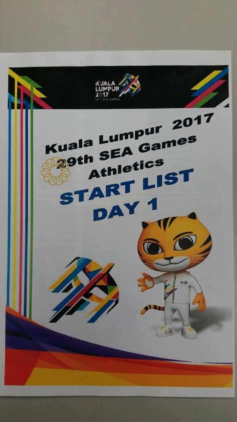2017 SEA Games Athletics Comprehensive Results and Report 8