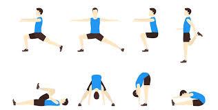 Stretching Warm-up : Alin ang tama? 1 7