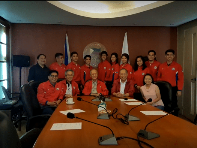 POC Gives Olympic Solidarity funds to Athletes