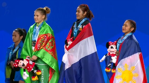 Hidilyn Diaz wins Philippines first ever Olympic Gold 8