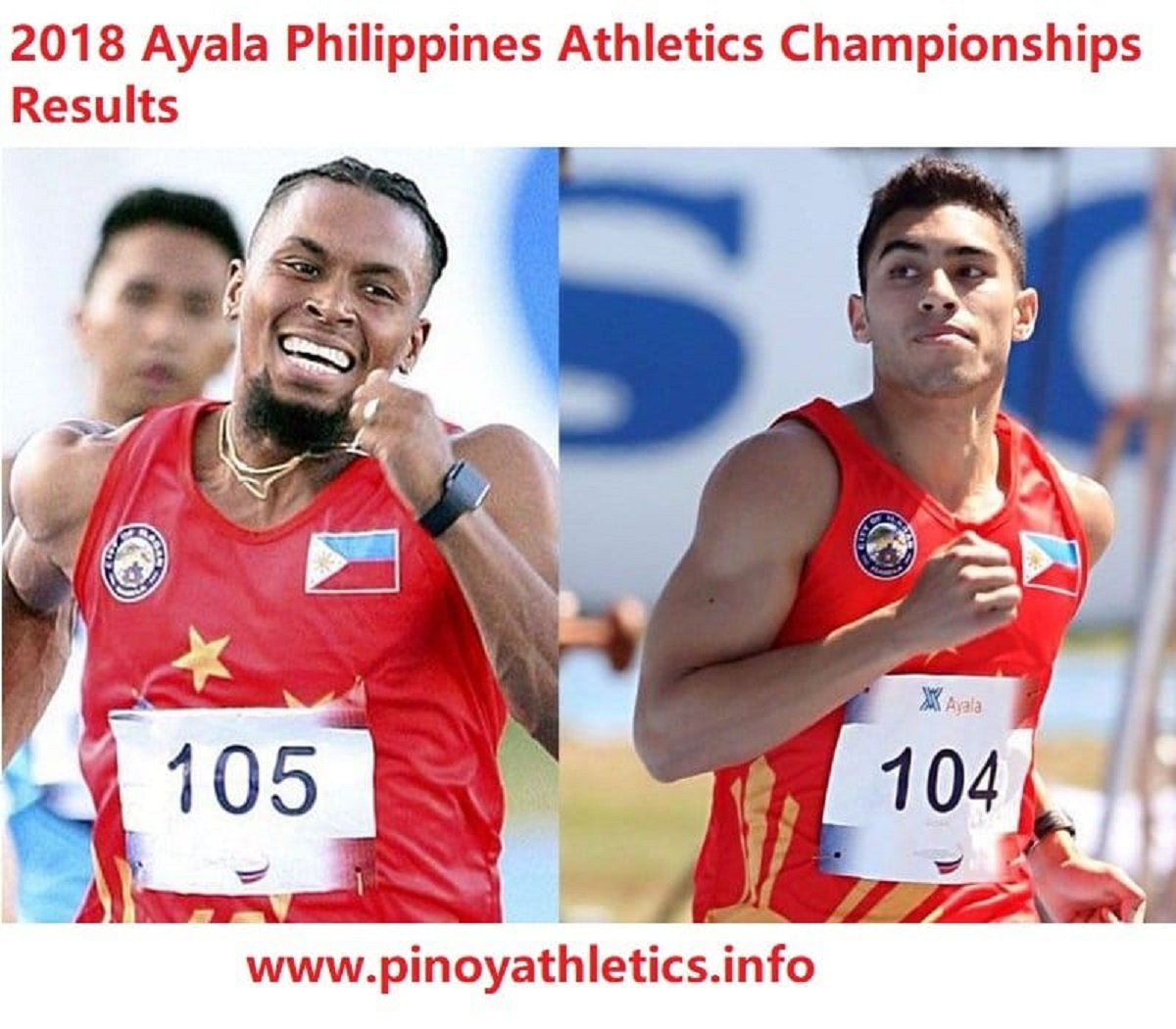 2018 Ayala Philippines National Open Athleics Results 8