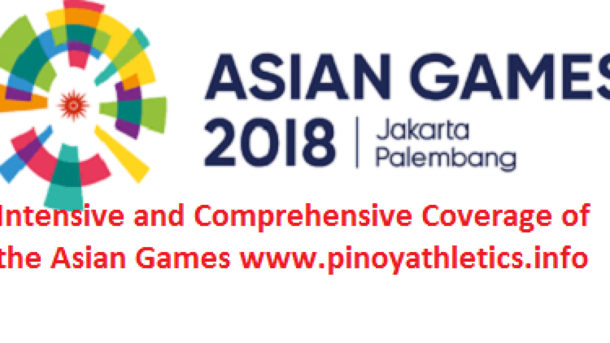 2018 Asian Games Rankings Of Philippine Athletes Reports