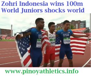 Lalu Zohri Indonesia 19