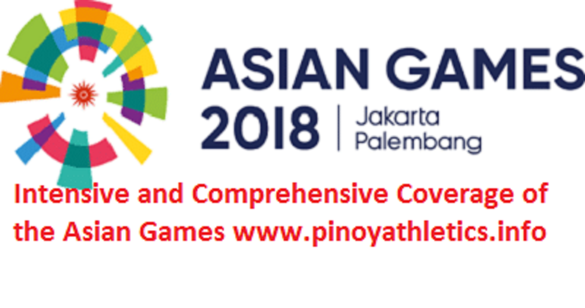 2018 Asian Games Test Athletics