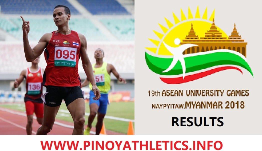 2018 ASEAN UNIVERSITY GAMES
