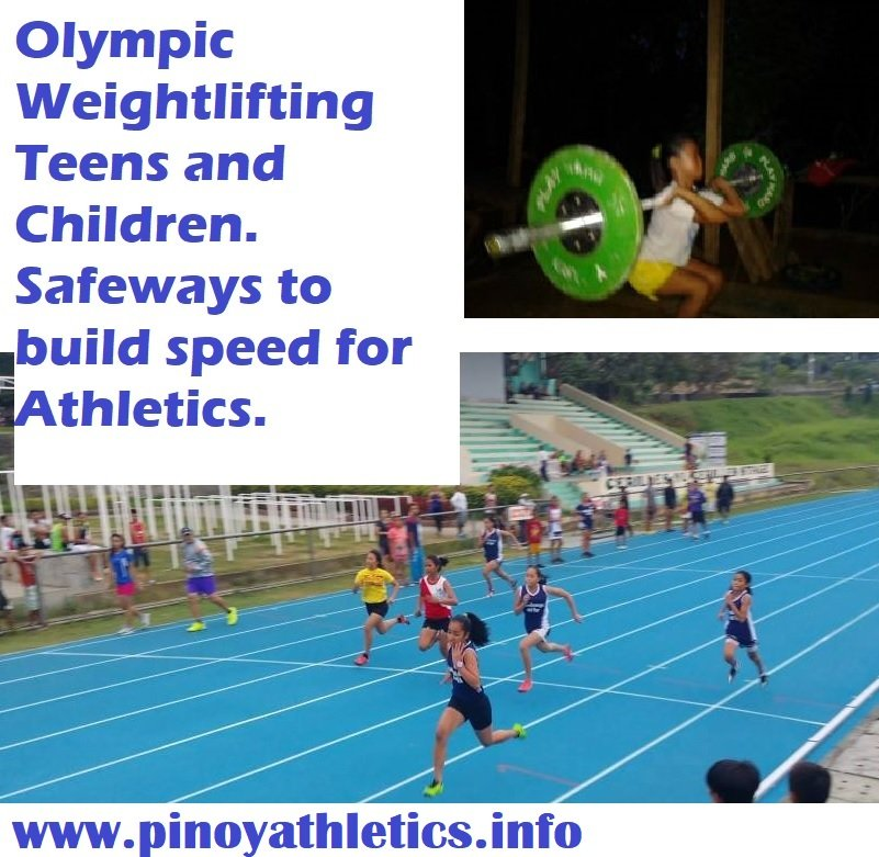 Olympic Weightlifting Teens and Children