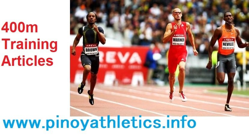 Proven 400 Meter Training Articles 2