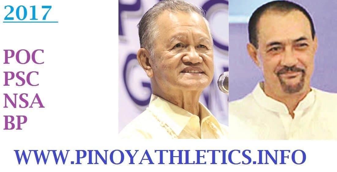 2017 POC / Philippines Sports Commission / NSA / BP