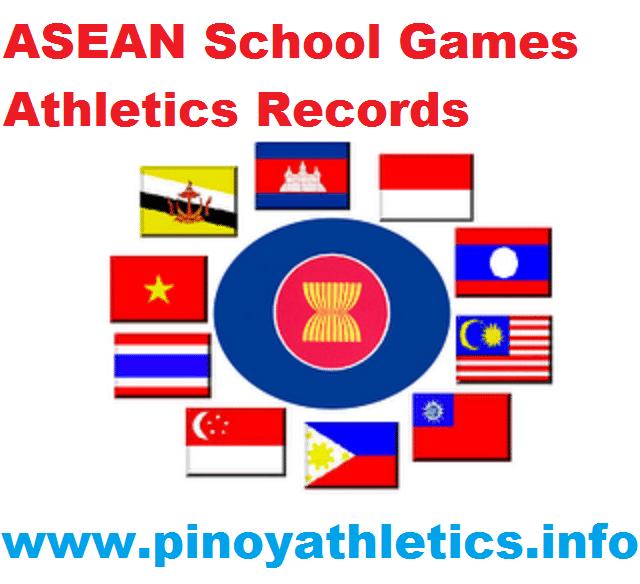 ASEAN School Games Records 1