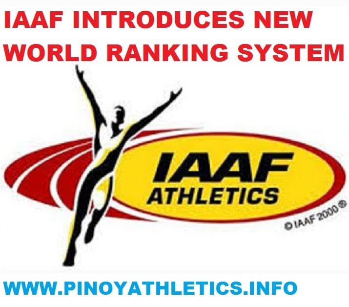New IAAF World Rankings System