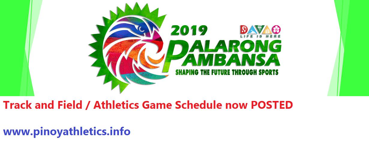 Palarong Pambansa 2019
