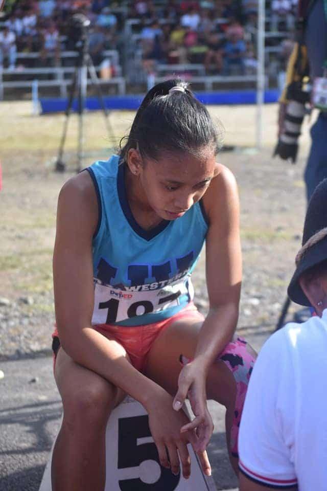 2019 Palarong Pambansa Bernalyn Bejoy