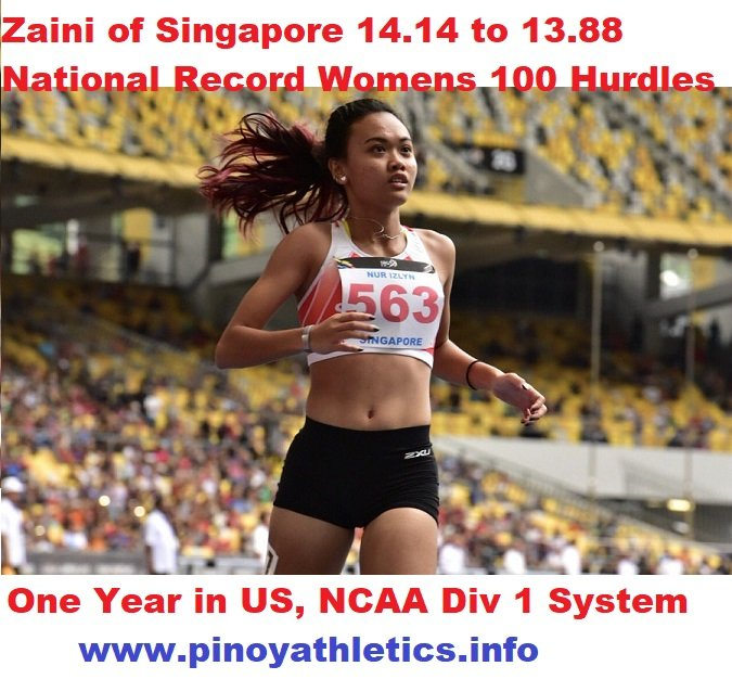 2018-2019 Singapore Athletics Open Comprehensive Results 1