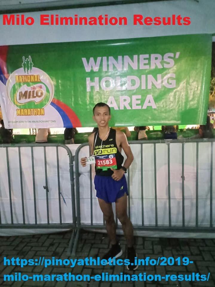 Amazing Milo Marathon Results 2013-2020 1