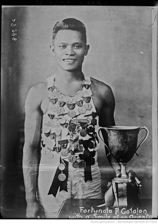 Fortunato Catalon the Greatest of 1920s Filipino Sprinters 1