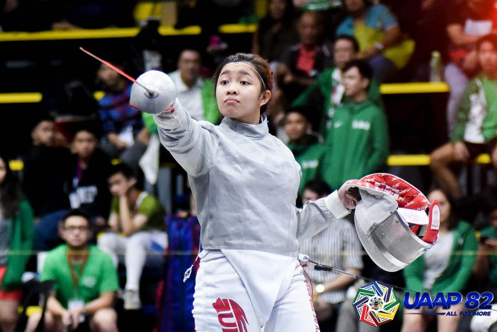 Fencing in the Philippines - Catantan accepts US scholarship 8