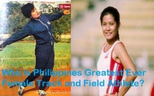Greatest Filipina Athletes in Athletics response to Eddie Alinea 16