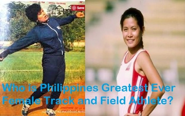 Greatest Filipina Athletes in Athletics response to Eddie Alinea 19