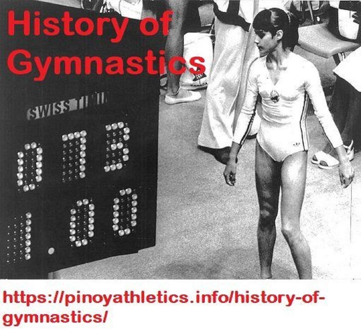 History for Gymnastics