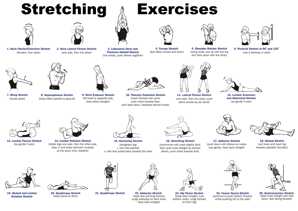 Static Stretching Examples