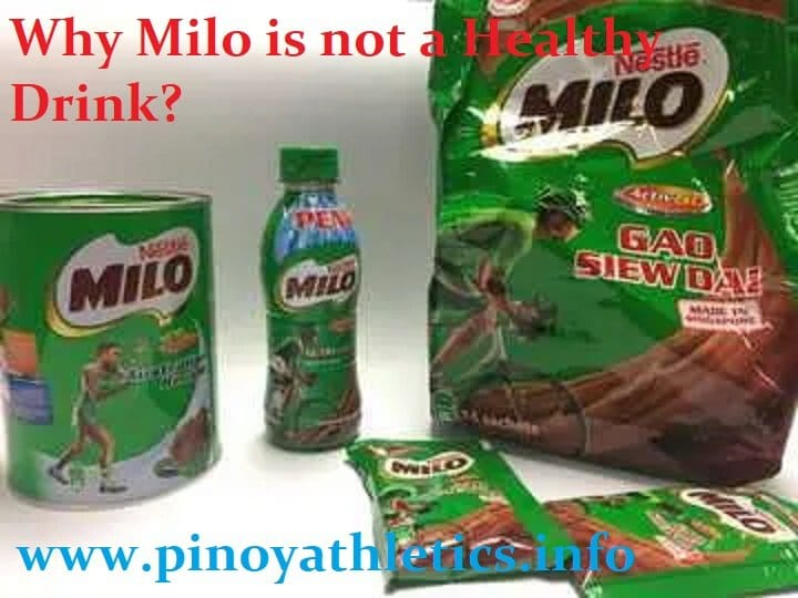 Why Milo drink is not a healthy drink? 1 9