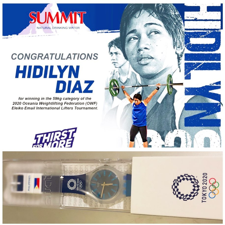 Hidilyn Diaz wins Philippines first ever Olympic Gold 3