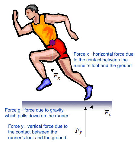 Running Foot Strike and Force Application how to run faster 1