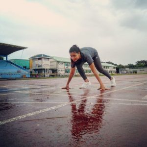 Can Athletes train in the rain