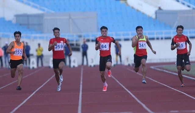 Ngần Ngọc Nghĩa fastest man South East Asia 2020 100/200 Double 1