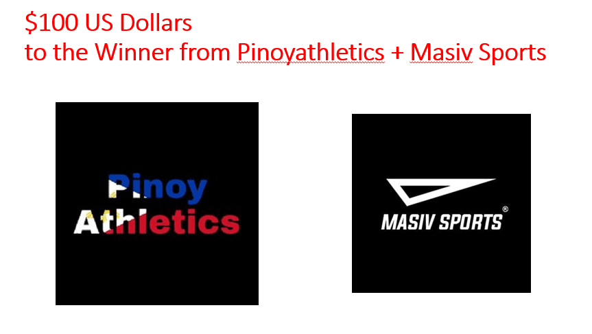 Pinoyathletics in support of Womens Sports Virtual Womens 60m Dash for Cash 1