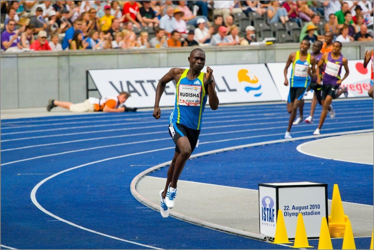800m running