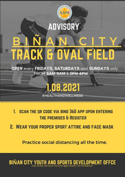 Where Can I train in the Philippines Track Ovals Re-Opening 1