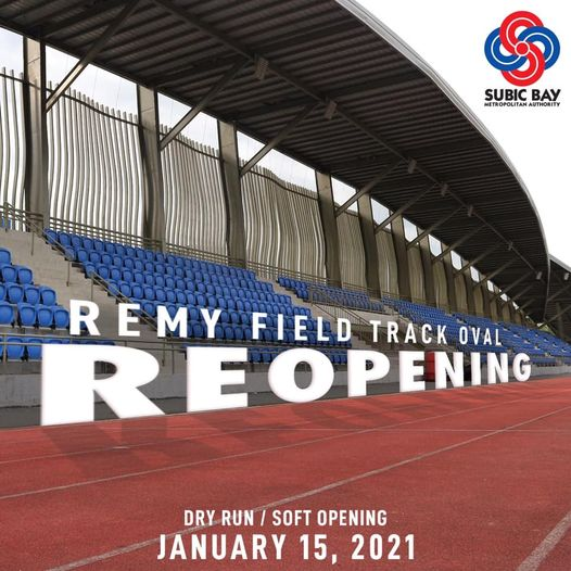 Where Can I train in the Philippines Track Ovals Re-Opening 2