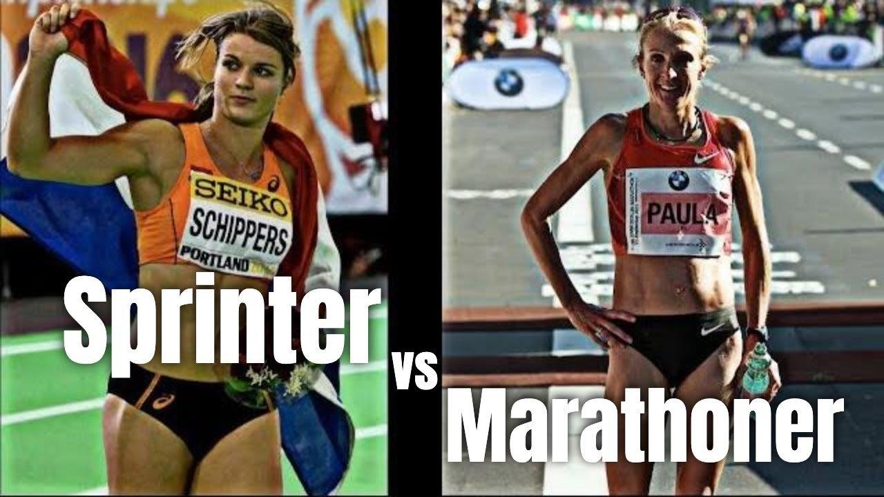 elite sprinters