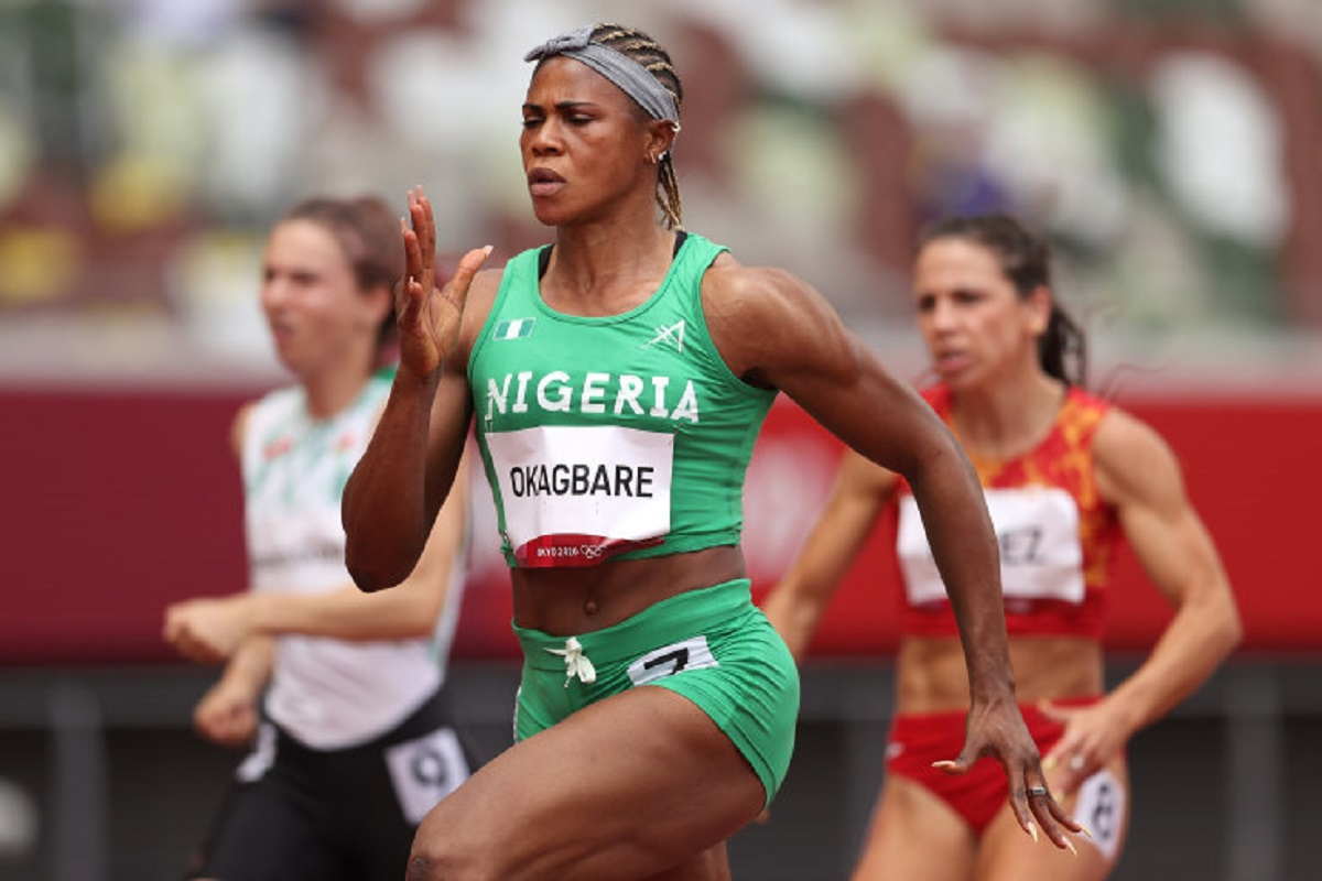 Blessing Okagbare suspended for HGH 12