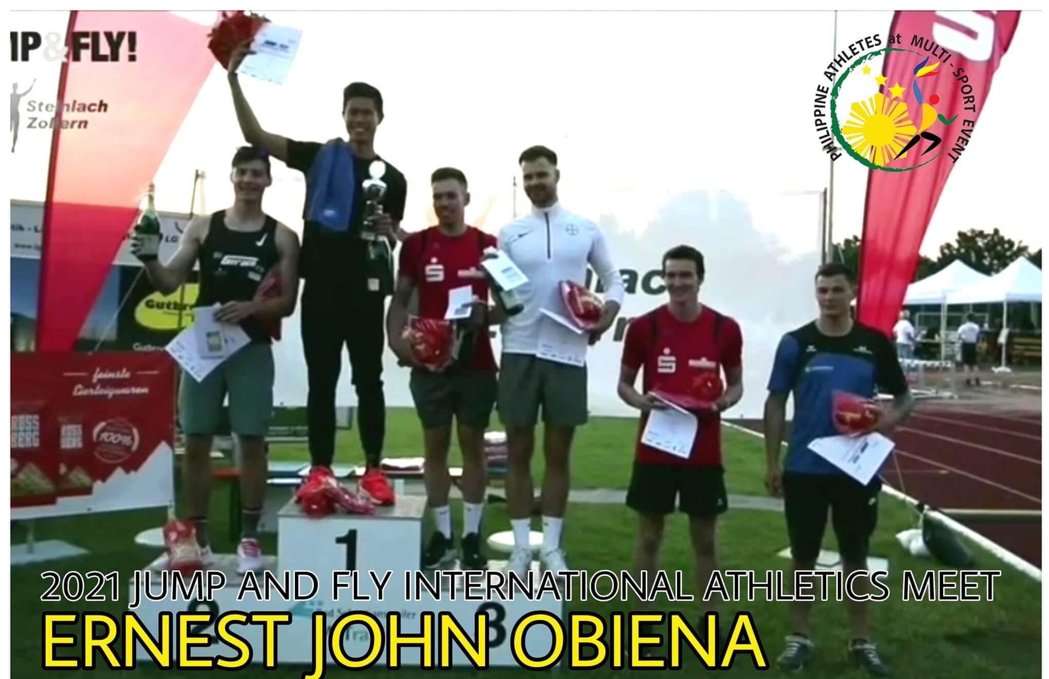 EJ Obiena - Ernest Obiena 5.93m Asian Record !!!! 6