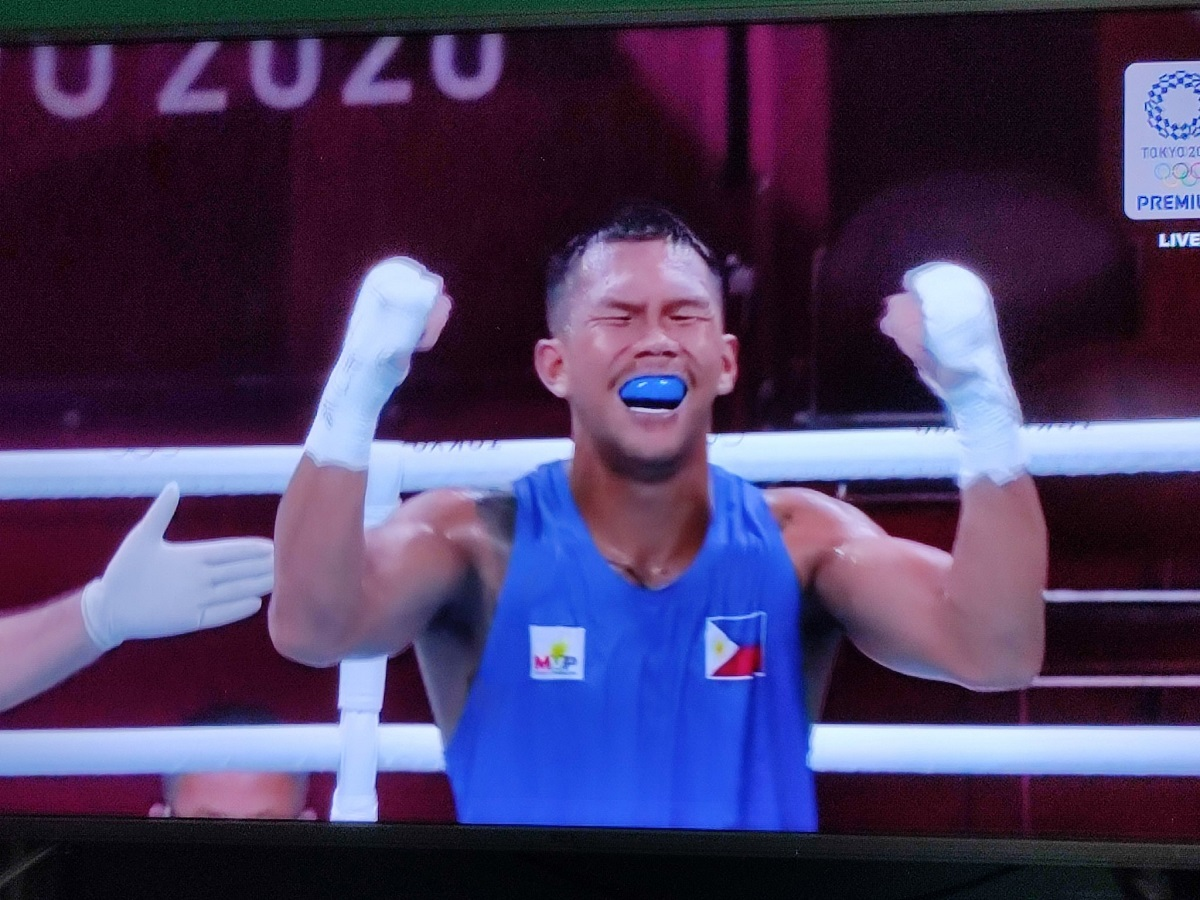 Eumir Marcial gives the Philippines complete medal collection 1
